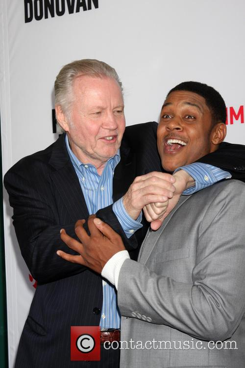 Jon Voight and Pooch Hall 4