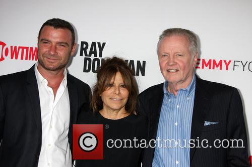 Liev Schreiber, Ann Biderman and Jon Voight