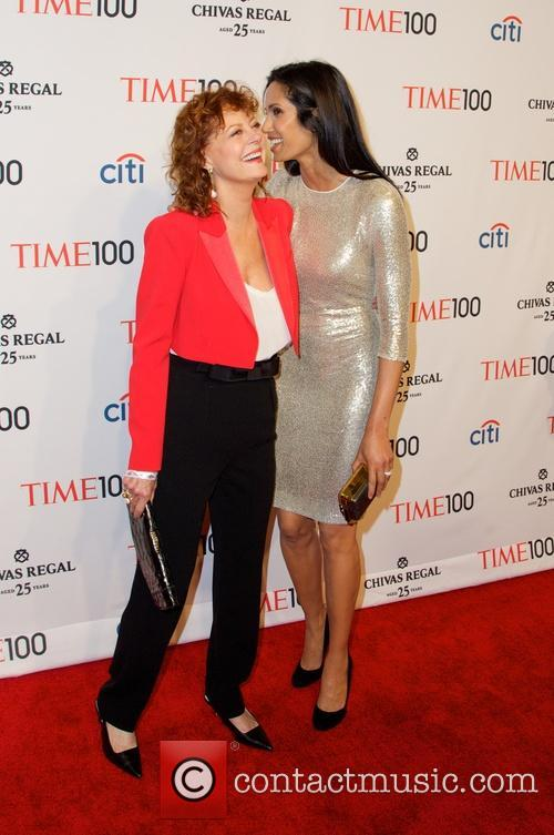 Susan Sarandon and Padma Lakshmi