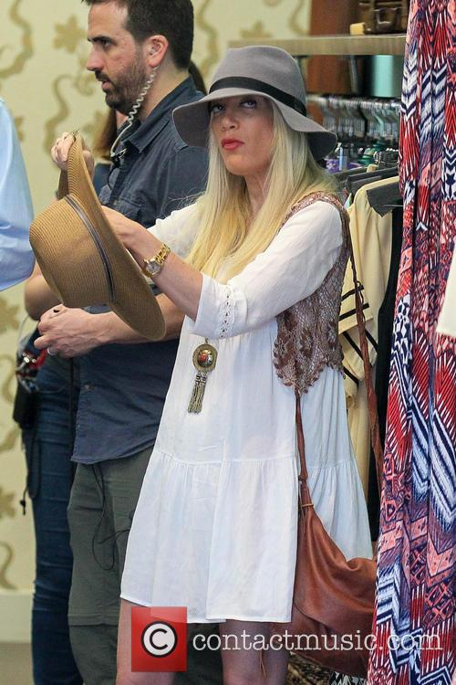 Tori Spelling and Tory Spelling 8