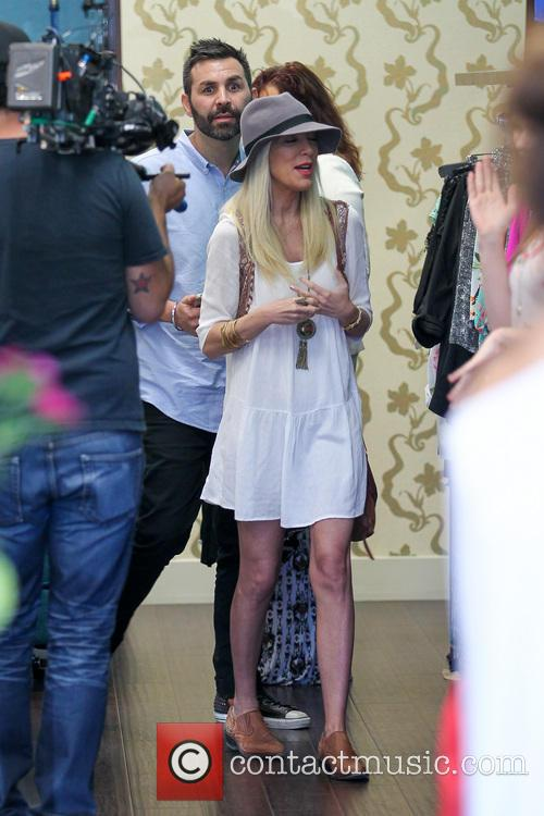 Tori Spelling and Tory Spelling 12