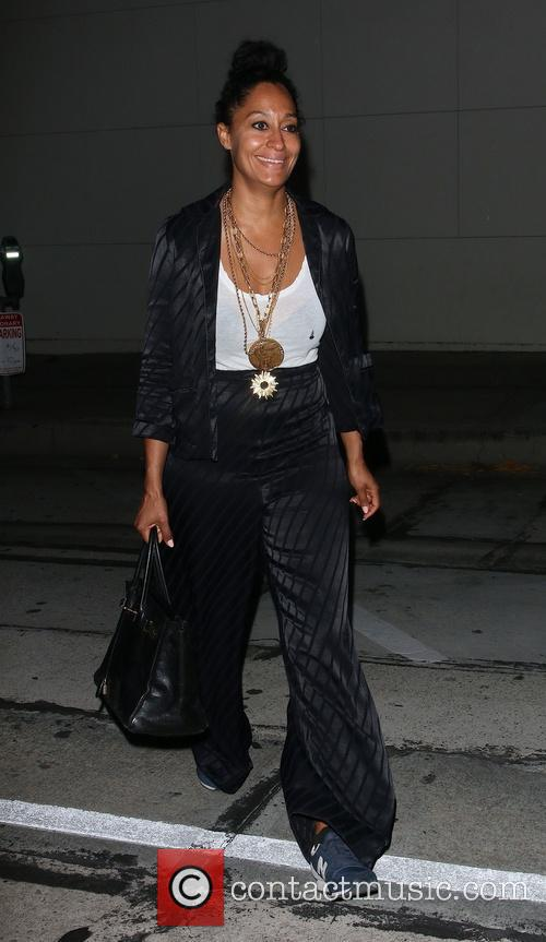 Tracee Ellis Ross out and about