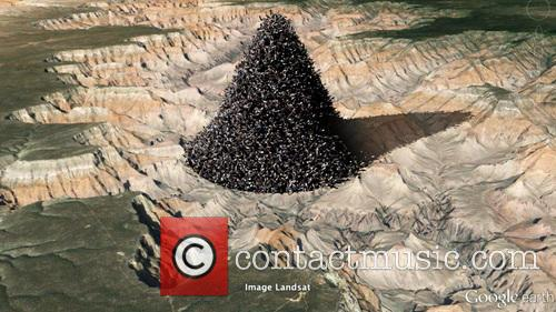 World Population Grand Canyon Pile Up