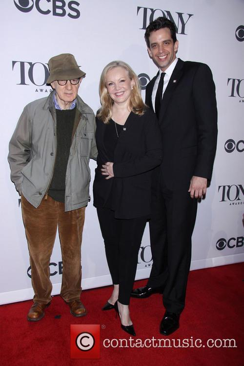 Woody Allen, Susan Stroman and Nick Cordero 5