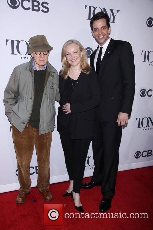 Woody Allen, Susan Stroman and Nick Cordero 7