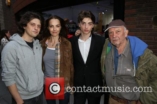 Fenton Bailey, Caroline Dyer, Sascha Bailey and David Bailey