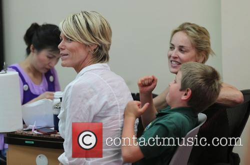 Sharon Stone and Kelly Stone 3