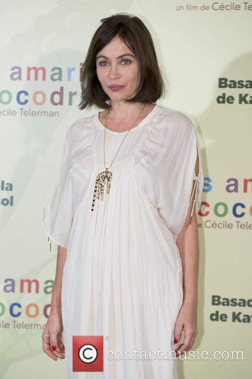 Emmanuelle Béart attends a photocall for 'The Yellow...