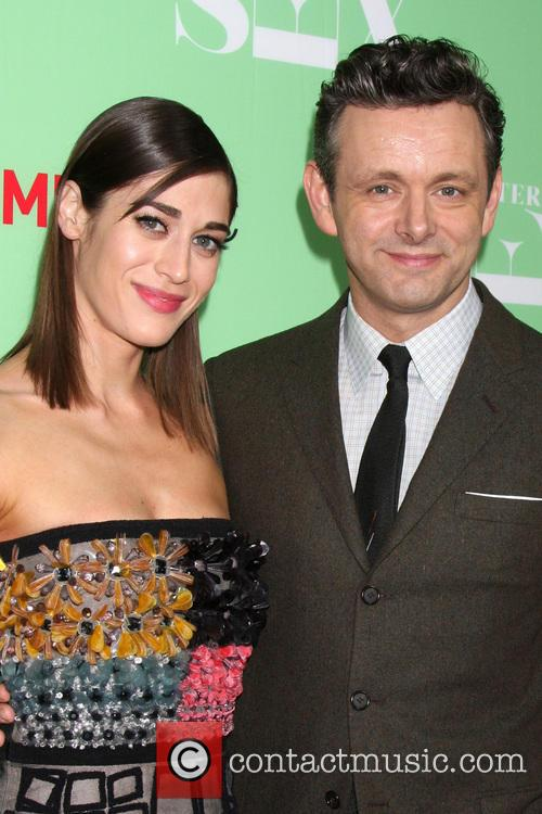 Lizzy Caplan and Michael Sheen 2