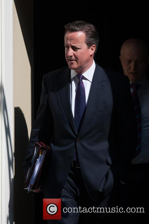 Politicians leaving Downing Street