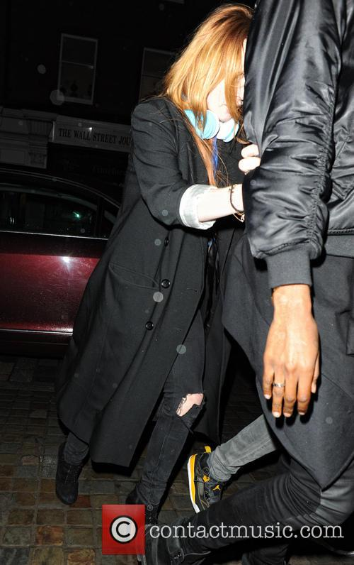 lindsay lohan the chiltern firehouse club 4176738