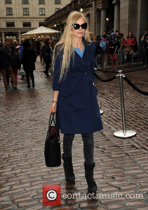 Laura Bailey spotted in Covent Garden