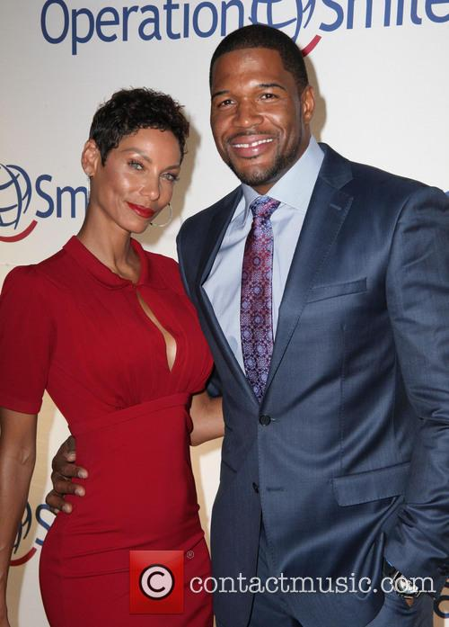 Nicole Murphy and Michael Strahan 3