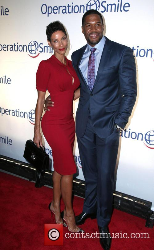 Nicole Murphy and Michael Strahan 1