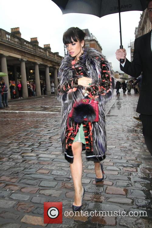 Lily Allen, Covent Garden Piazza, London, Chanel, Perfume,