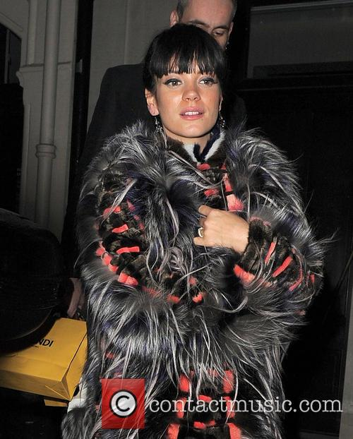 Lily Allen Fendi Store Launch