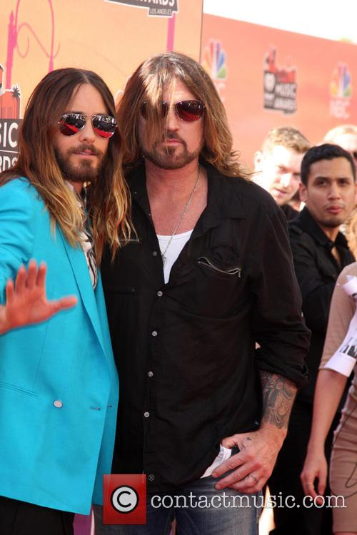 Jared Leto and Billy Ray Cyrus 2