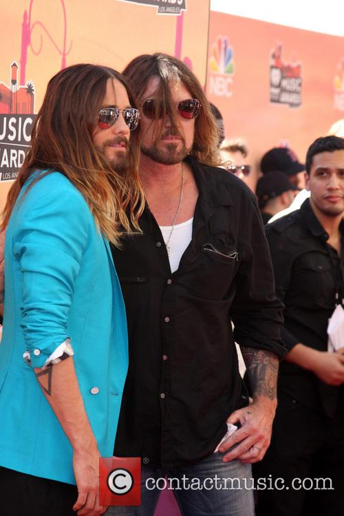 Jared Leto and Billy Ray Cyrus 6