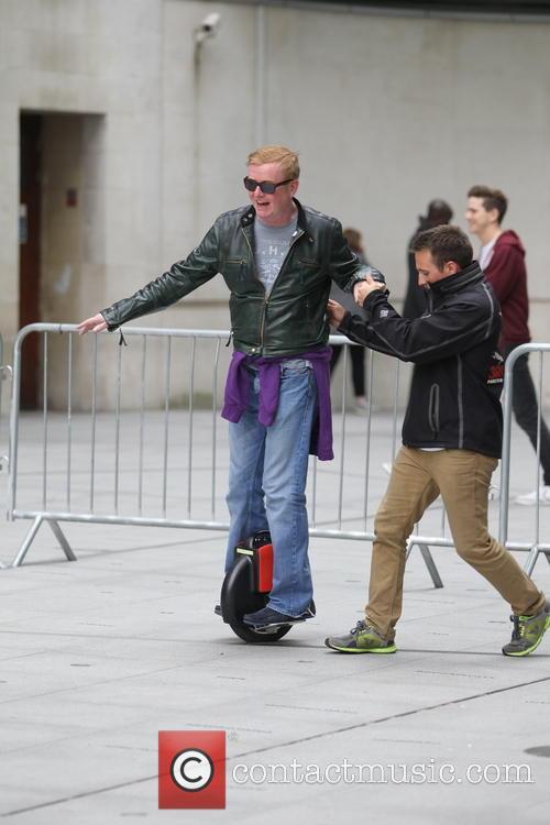 Alex Jones and Chris Evans