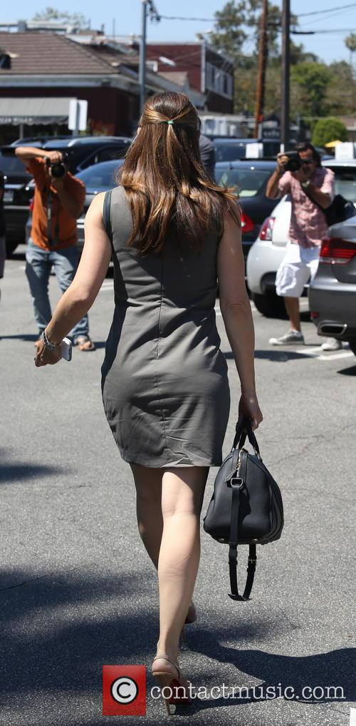 Jennifer Garner spotted out in Brentwood
