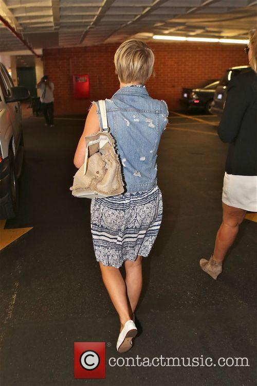 Julianne Hough spotted leaving a nail salon