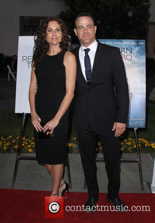 Minnie Driver and Paul Adelstein 7