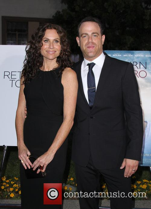 Minnie Driver and Paul Adelstein 9