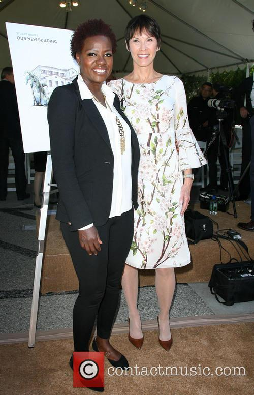 Viola Davis and Cheryl Saban 11