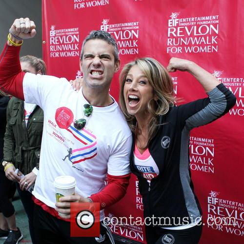 Andy Cohen and Denise Austin 6