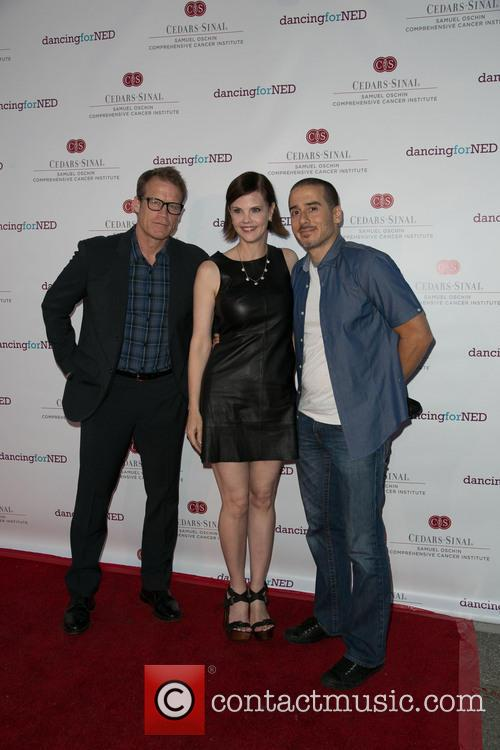 Mark Valley, Kiersten Warren and Kirk Acevedo 3