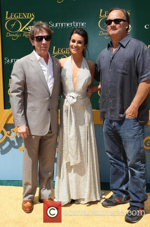 Martin Short, Lea Michele and Jim Belushi 3