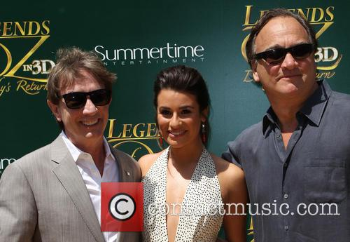 Martin Short, Lea Michele and Jim Belushi 8