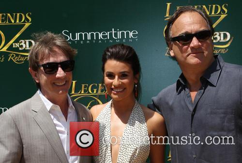 Martin Short, Lea Michele and Jim Belushi 9