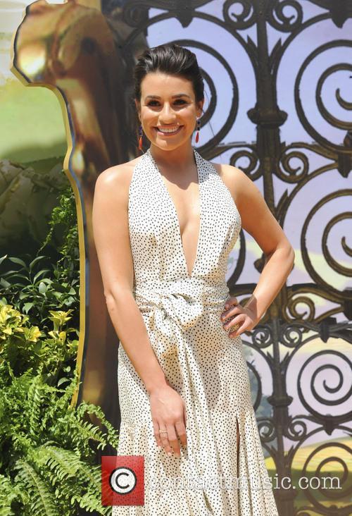 Lea Michele Legends Of Oz Premiere