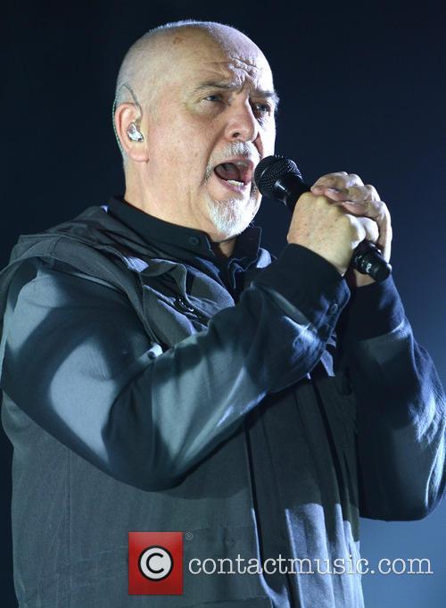 Peter Gabriel performs live