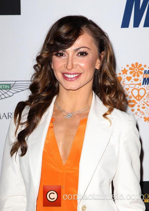 Karina Smirnoff, the Hyatt Regency Century Plaza