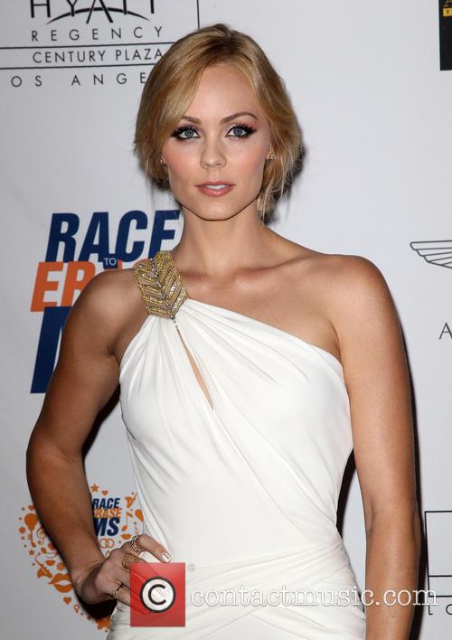 Laura Vandervoort, the Hyatt Regency Century Plaza