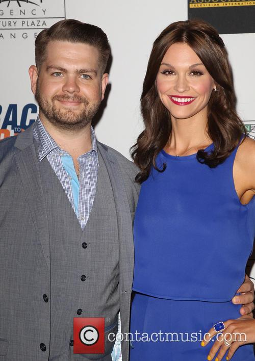 Jack Osbourne, Lisa Stelly, the Hyatt Regency Century Plaza