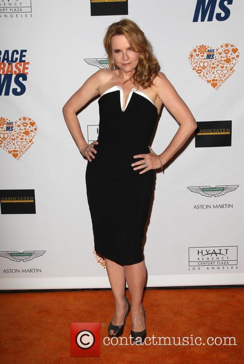 Lea Thompson, the Hyatt Regency Century Plaza