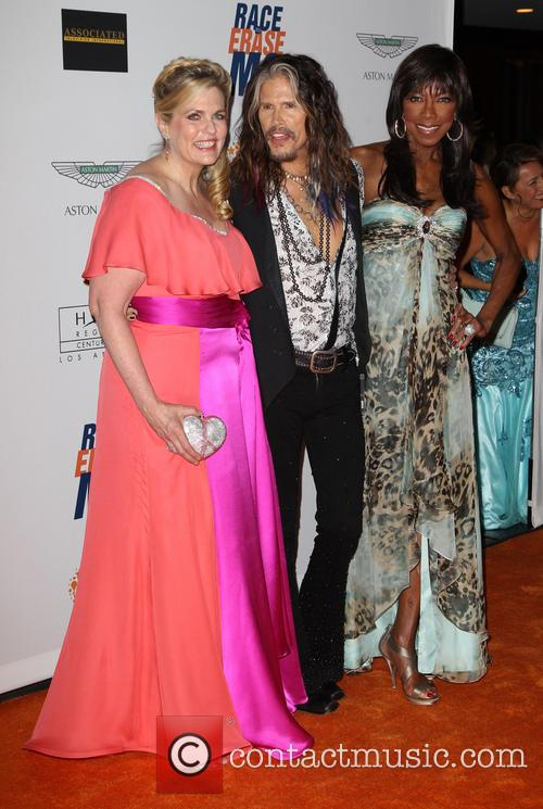 Nancy Davis, Steven Tyler and Natalie Cole 2