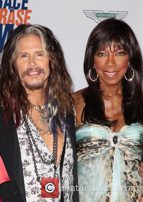 Steven Tyler and Natalie Cole 2