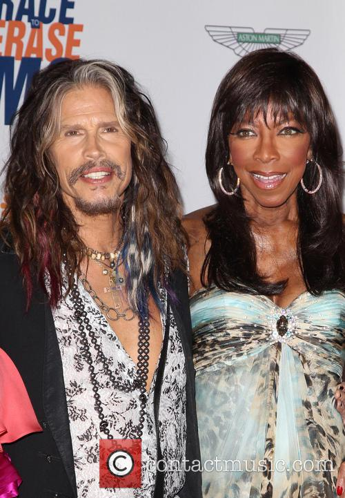 Steven Tyler and Natalie Cole 6