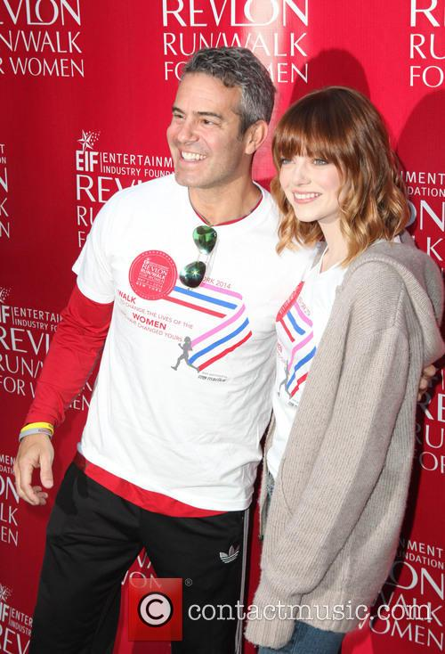 Andy Cohen and Emma Stone 11