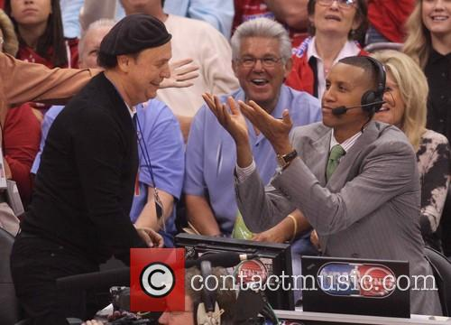 Billy Crystal and Reggie Miller
