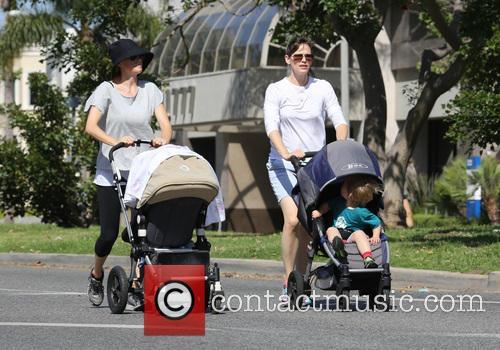Jennifer Garner and Samuel Garner Affleck 7
