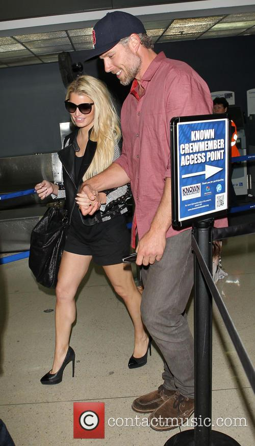 Jessica Simpson and Eric Johnson 3