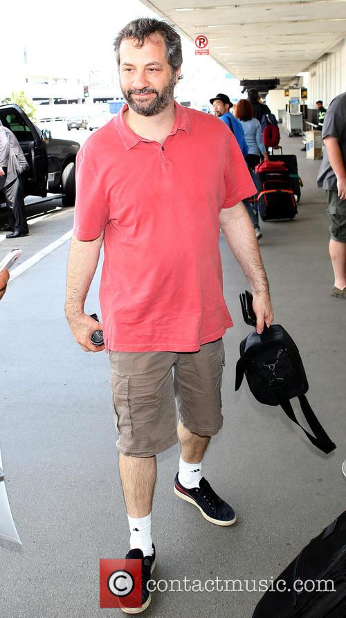 Judd Apatow at LAX