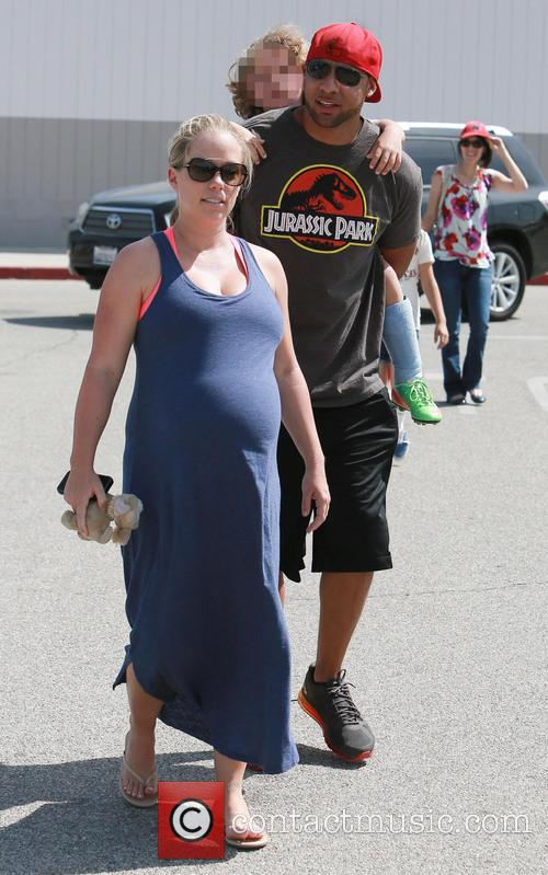 Kendra Wilkinson At Son's Football Game
