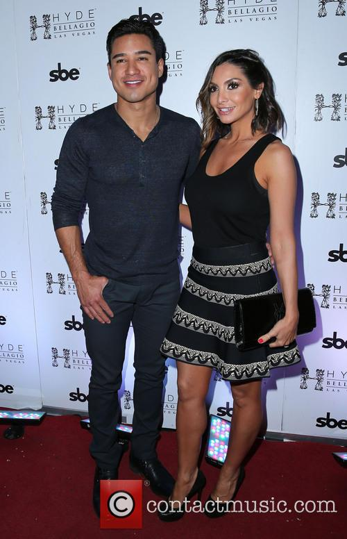 Mario Lopez and Courtney Lopez 2
