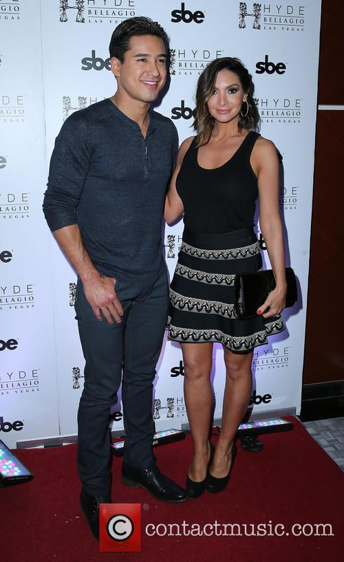 Mario Lopez and Courtney Lopez 8